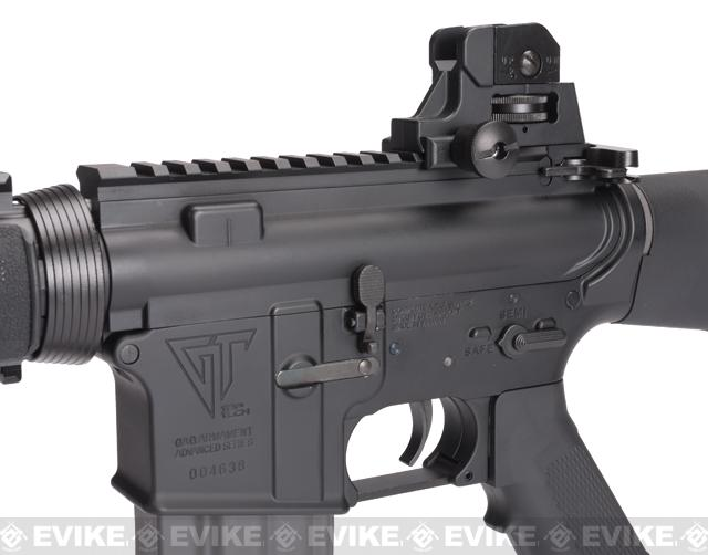 G&G Top Tech Full Metal TR16 R4 Blowback Airsoft AEG Rifle - (Package: Gun Only)