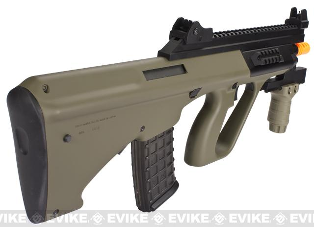 Tokyo Marui AUG Custom High Cycle Airsoft AEG Rifle - Tan