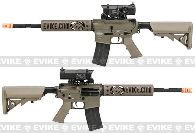 Evike Class I Custom G&P M4 Airsoft AEG Rifle - Unique-AR 9 (Package: Add Battery + Charger)