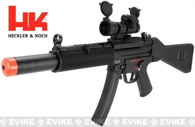 Bone Yard - H&K Licensed MP5 A4 A5 RIS SD Full Metal Elite Airsoft AEG Rifle by G&G Top Tech (Store Display, Non-Working Or Refurbished Models)