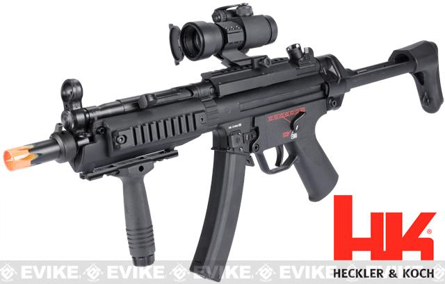 z H&K MP5A5 RIS Airsoft Electric Blowback EBB AEG Rifle by Umarex / G&G