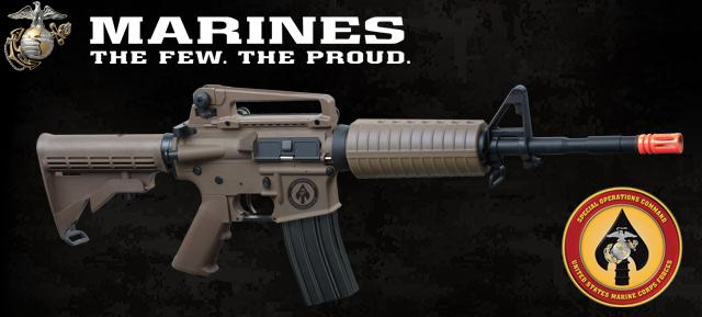 z USMC Licensed Limited Special Edition ER08 M4 MARSOC Carbine Airsoft AEG Rifle