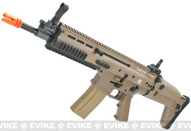 z FN Herstal Full Metal SCAR Light CQC Airsoft AEG Rifle by VFC - Dark Earth