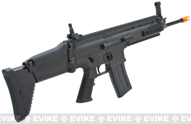 FN Herstal Full Metal SCAR Light STD Airsoft AEG Rifle by VFC - Black