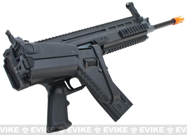 (AIRSOFTCON EPIC DEAL) FN Herstal Full Metal SCAR Light STD Airsoft AEG Rifle by VFC - Black