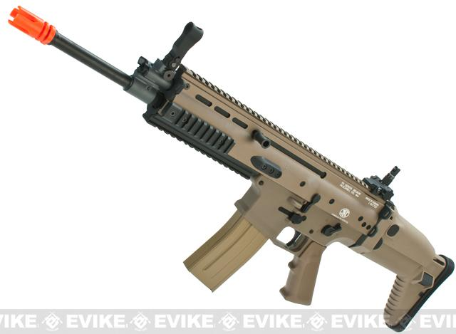 FN Herstal Full Metal SCAR Light Airsoft AEG Rifle by VFC (Model: Standard / Dark Earth)