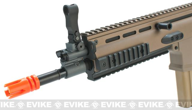 FN Herstal Full Metal SCAR Heavy CQC Airsoft AEG Rifle by VFC - Dark Earth