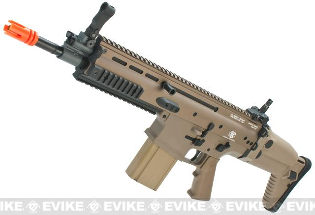 FN Herstal Full Metal SCAR Heavy Airsoft AEG Rifle by VFC (Model: CQC / Dark Earth)
