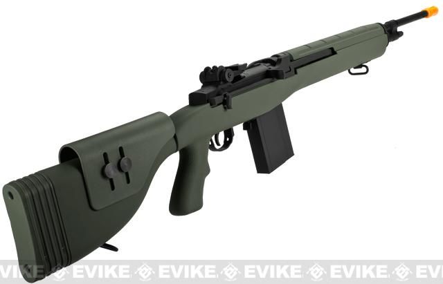 G&P M14 Socom DMR Proto Airsoft AEG Sniper Rifle - Foliage Green