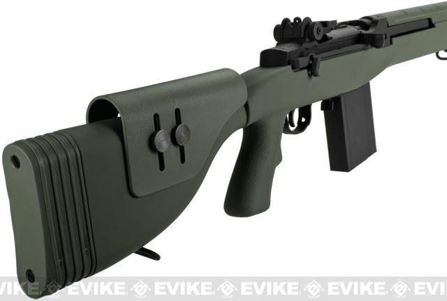 Pre-Order ETA June 2017 G&P M14 DMR Airsoft AEG Sniper Rifle - Foliage Green (Package: Add Battery + Charger)