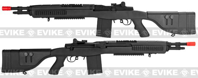 Pre-Order ETA March 2017 G&P M14 DMR Recon Advanced Airsoft AEG Sniper Rifle - Black (Package: Add Battery + Charger)
