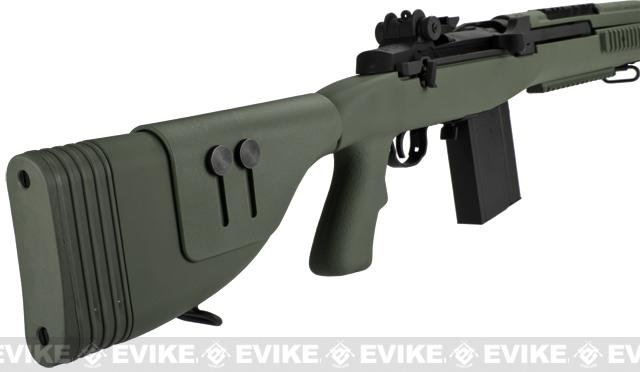 G&P M14 DMR Recon Airsoft AEG Sniper Rifle - Foliage Green (Package: Gun Only)