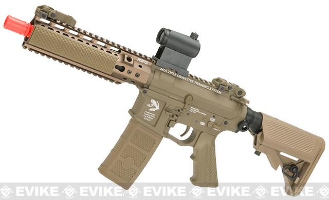 Pre-Order ETA April 2017 G&P MOTS High Speed 8 Keymod M4 Carbine Airsoft AEG Rifle - Dark Earth (Package: Add Battery + Charger)