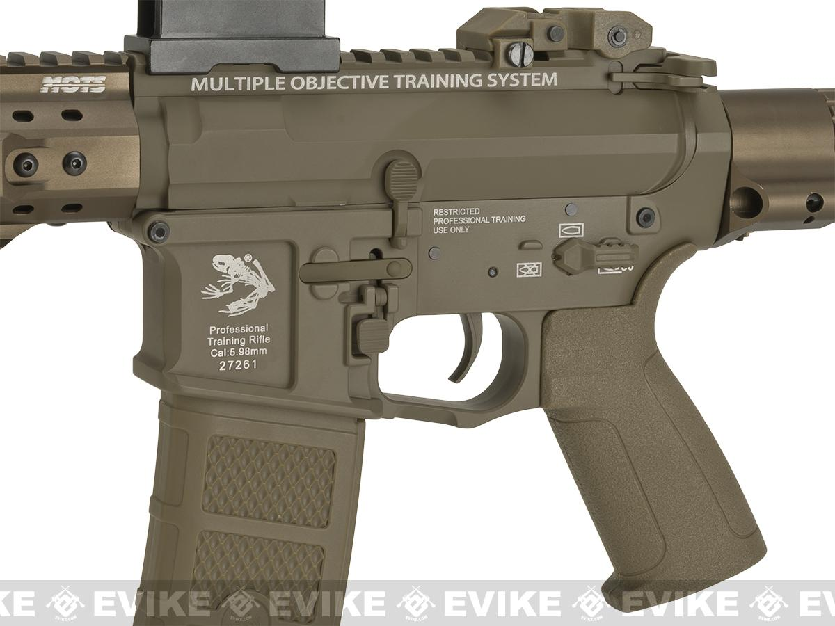 Pre-Order ETA June 2017 G&P MOTS M4 PDW Compact Airsoft AEG - Dark Earth (Package: Add Battery + Charger)