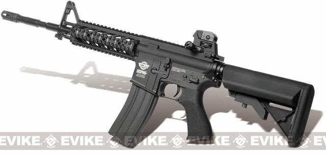 Pre-Order ETA September 2016 G&G Combat Machine 16 Raider Airsoft AEG Rifle - Black (Package: Gun Only)