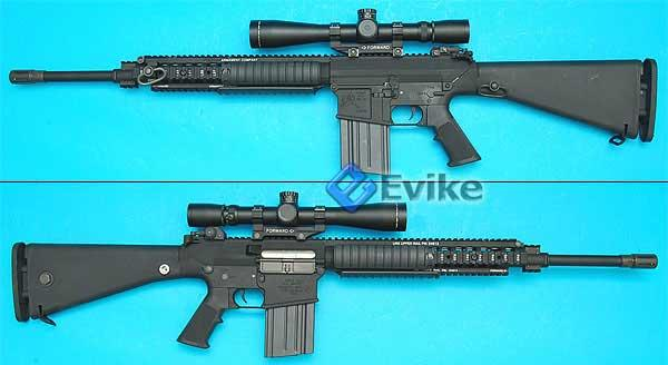 z G&P Limited Edition Custom XM110 SR-25 Full Size Airsoft Sniper Rifle