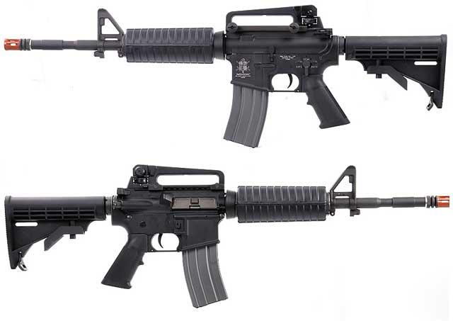 z VFC E Series Full Metal M4 Carbine Airsoft AEG Rifle w/ 14.5 Steel Barrel