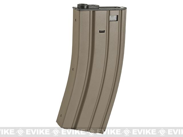 APS 300rd Full Metal Hi-Capacity Magazine for M4 / M16 / UAR Series Airsoft AEG Rifles - Dark Earth