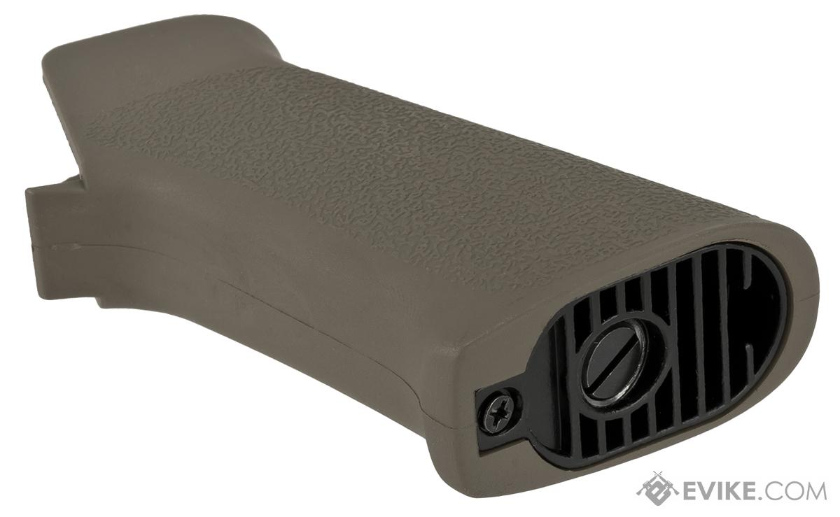 APS Battle Grip Motor Grip for M4/M16 Series Airsft AEG Rifles (Color: Foliage Green)