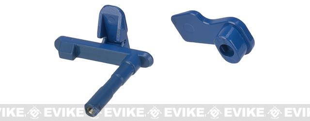 APS Ambidextrous Magazine Release for M4/M16 Series Airsoft AEGs - Evike.com Blue