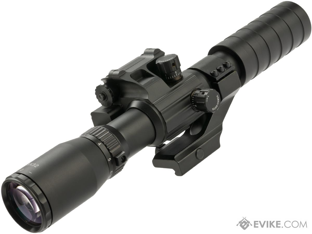 Evike.com 3-9x32 Variable Scope with Laser Aiming Module