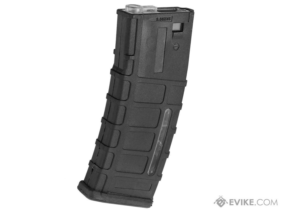 360rd ACR Type Hi-Cap Magazine for M4 M16 Series Airsoft AEG Rifles (Color: Black)