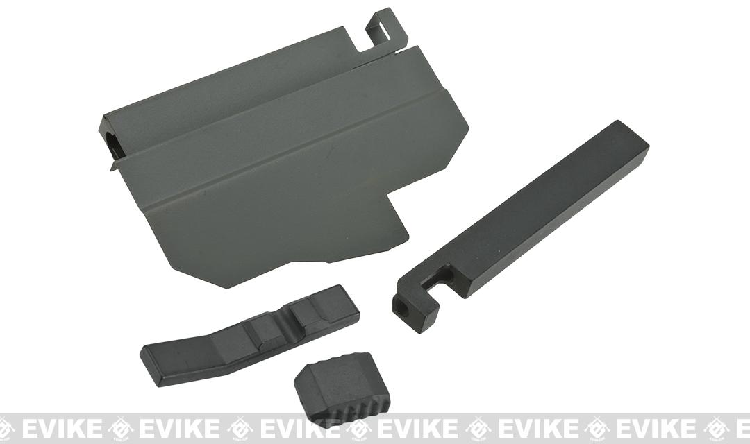 A&K ACR Airsoft AEG Charging Handle Assembly - Black