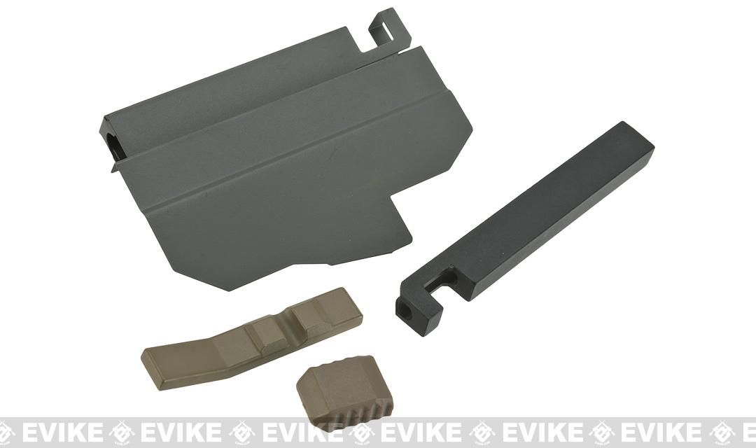 A&K ACR Airsoft AEG Charging Handle Assembly - Dark Earth