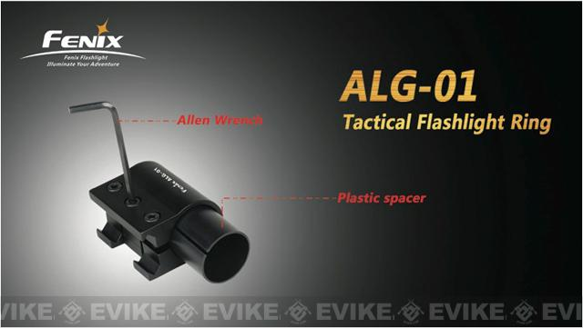 Fenix ALG01 Aluminum Flashlight Ring