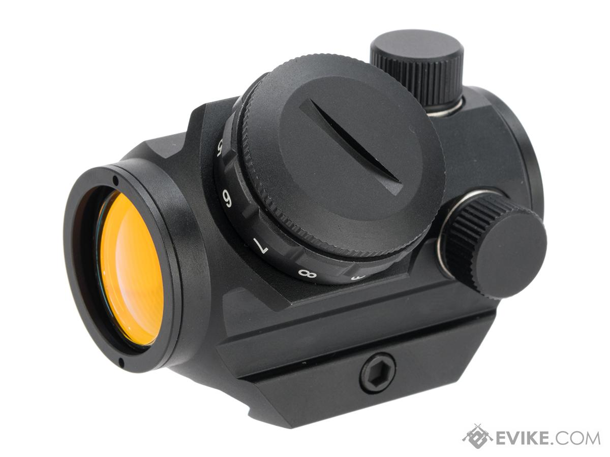 Black Owl Gear 1X23 Low Profile Micro Dot with Left Hand Offset Controls