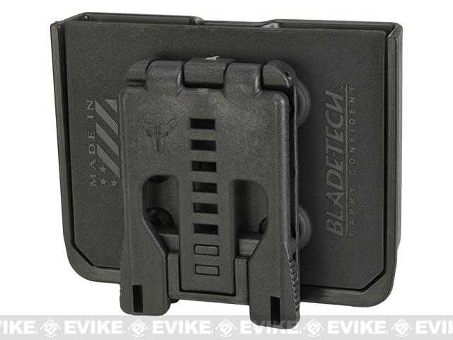 Blade-Tech Signature DMP Single Stack .45  Double Mag Pouch - Tek-Lok (Black)
