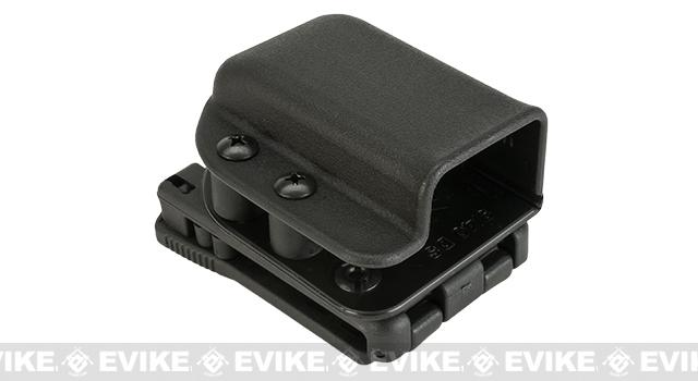 z Blade-Tech Signature SMP Double Stack 9 / 40  Single Mag Pouch - Tek-Lok (Black)
