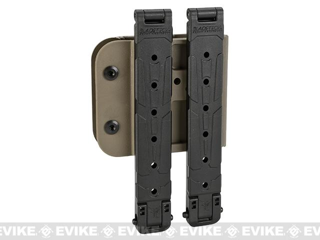 Blade-Tech Revolution AR-15 / M4 Single Mag Pouch - MOLLE-Lok (Right Hand Vertical - Tan)