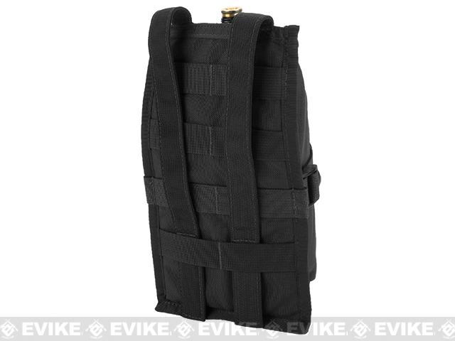 z Full Clip USA MOLLE Air Tank Pouch Vertical - Black