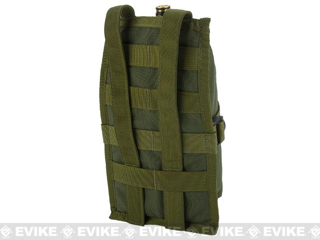 Full Clip USA MOLLE Air Tank Pouch Vertical - OD Green