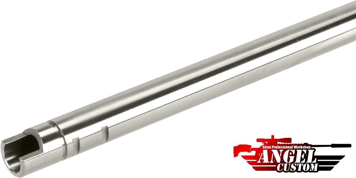 Angel Custom G2 SUS304 Stainless Steel Precision 6.01mm Airsoft WE-Tech GBB Tightbore Inner Barrel (Length: 270mm)