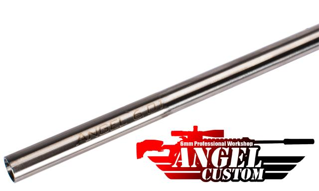 Angel Custom G2 SUS304 Stainless Steel 6.01mm Airsoft Tightbore Inner Barrel (370mm / AEG)