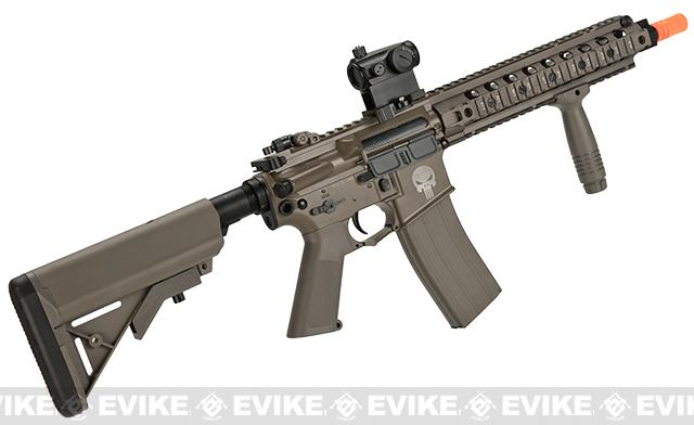 6mmProShop AA16 E3 Full Metal Li-Po Ready High Performance Competition Airsoft AEG - Tan