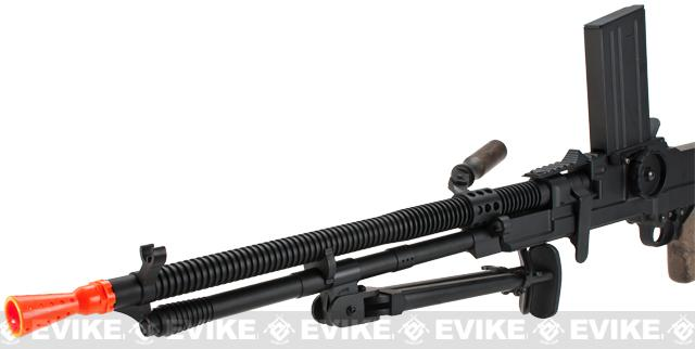 Matrix Full Metal ZB-30 ZB-26 Airsoft AEG Machine Gun w/ Folding Bipod - Imitation Wood