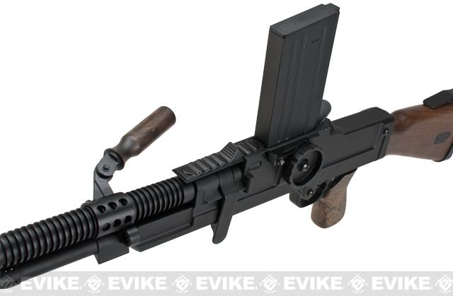 Matrix Full Metal ZB-30 ZB-26 Airsoft AEG Machine Gun w/ Folding Bipod - Imitation Wood