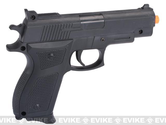 WWII Collector's Edition Airsoft Mauser Pistol w/ Bonus Spring Pistol