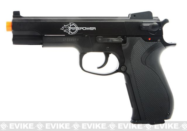 Firepower .45 Full Size Airsoft Heavy Weight Pistol with Metal Slide