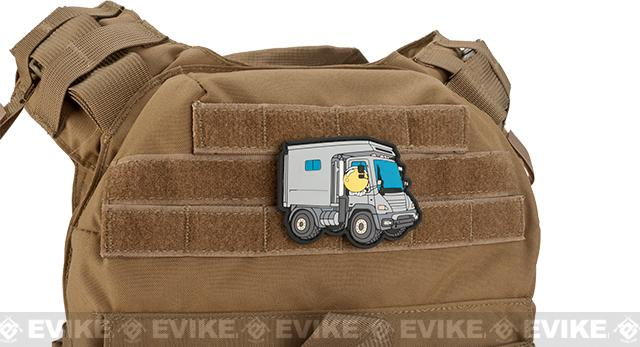 Aprilla Design PVC IFF Hook & Loop Patch - Apex Unimog