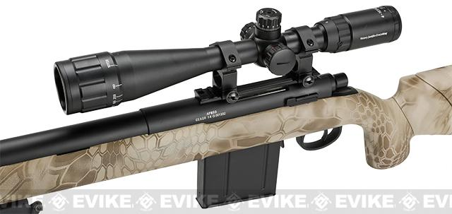 APS M50 Shell Ejecting Co2 Powered Airsoft Gas Sniper Rifle 500~590 FPS (Model: Kryptek Nomad)