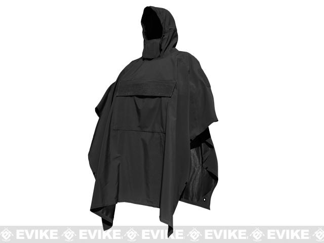 Hazard 4 Poncho Villa Technical Soft-Shell Poncho - Black