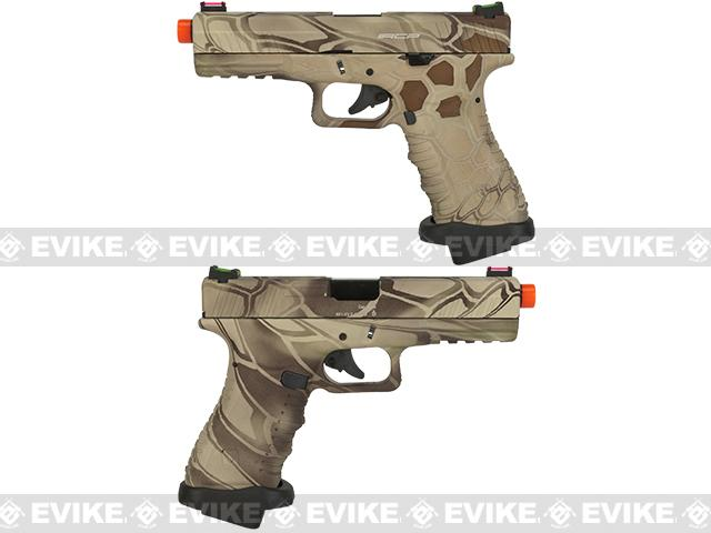 APS ACP Full Metal CO2 Powered Airsoft GBB Gas Blowback Pistol - Highlander