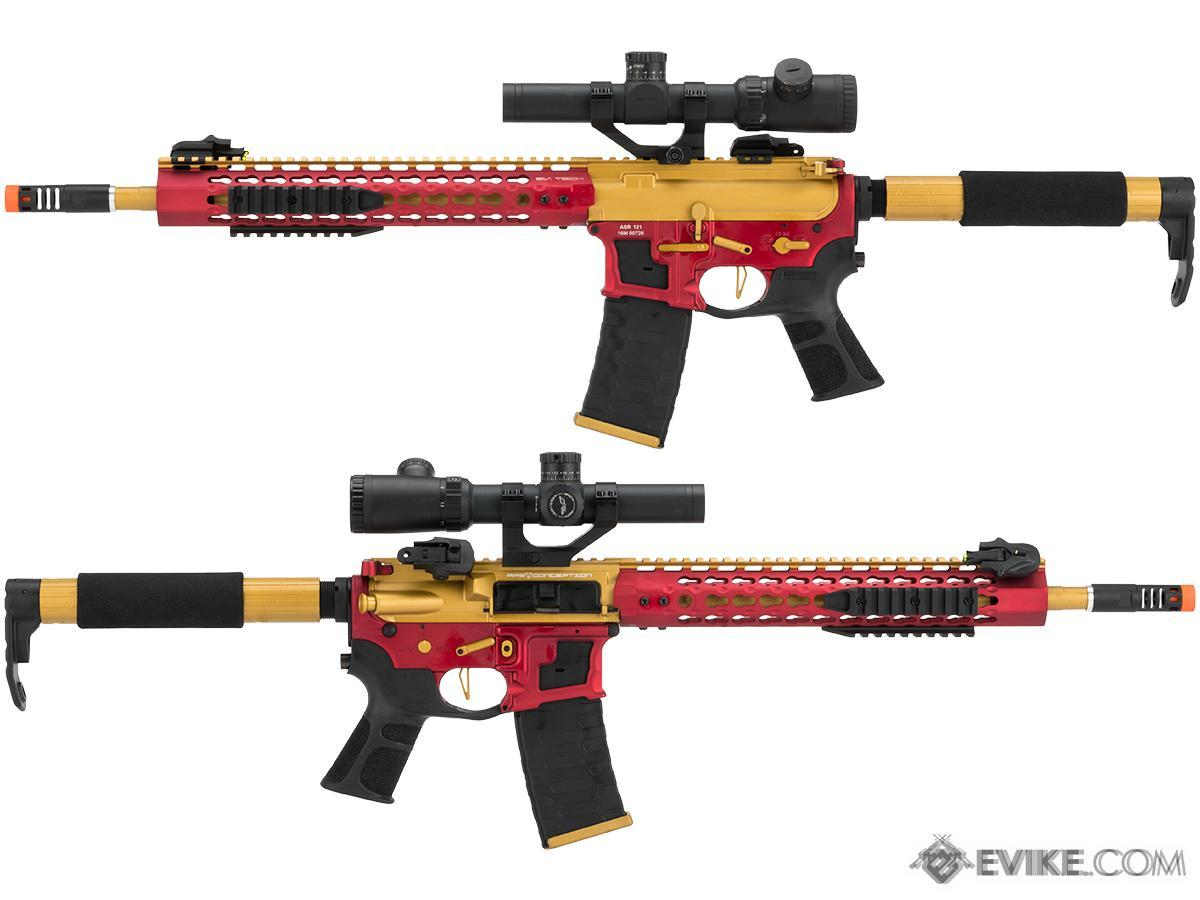 APS Limited Edition CNC Machined Gold Dragon Custom AEG Rifle w/ Silver Edge Gearbox