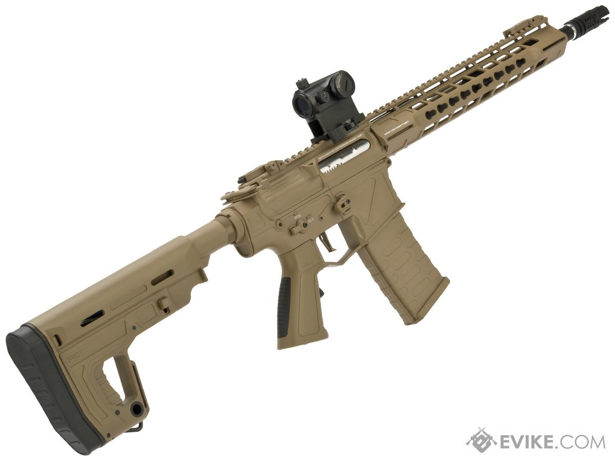 APS Phantom Extremis Mark II M4 AEG with 12.5 Keymod Handguard (Color: Tan)