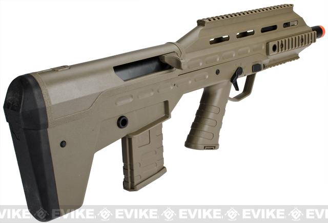 APS V.2 ll Size UAR Urban Assault Rifle Airsoft AEG w/ Metal Gear Box - Dark Earth