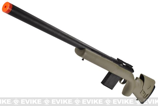 APS M40A3 Bolt Action Airsoft Sniper Rifle - Dark Earth (Package: Rifle)